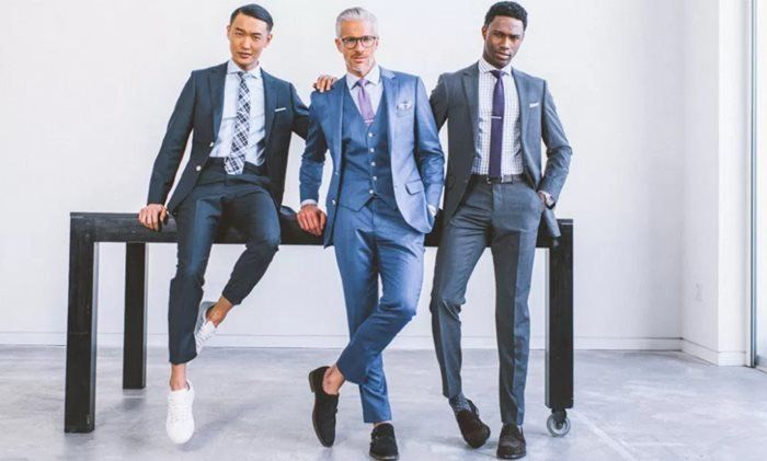 Online men's fashion shopping